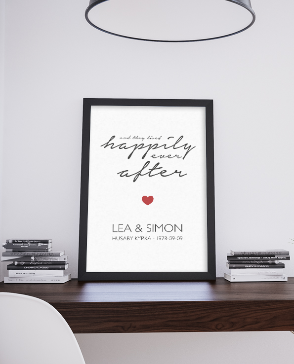Form – poster – Happily